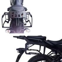 Bagageiro E Afastador De Alforjes Yamaha Mt 07 Até 18 - Ação Acessórios