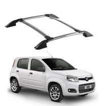Bagageiro Fiat Uno 2011 2012 2013 2014 2015 a 2020 Cromado - Track