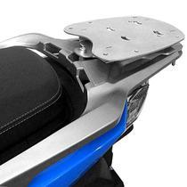 Bagageiro Rack Suporte Bau Sh 150 Honda Scam Prata -