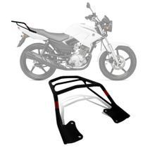 Bagageiro Suporte Bauleto Givi Yamaha YBR 125 Factor 08 a 16 Aço Preto SR367 -