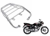 Bagageiro Suporte Para Bauleto Cromado Honda Cbx 200 Strada De 1994 Ate 2004 - Dvsc