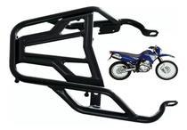 Bagageiro Suporte Reforçado Alça Traseira Yamaha Xtz Lander 250 Preto 2006 2007 2008 2009 2010 2011 2012 2013 2014 2015 2016 2017 - Ma Cross
