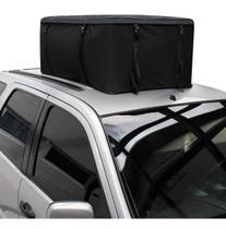 Bagageiro Teto Maleiro 340 litros Resistente Mala Dobrável Para Carro Com Rack - Breeze