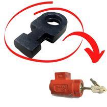 Baioneta / pino para cadeados de chão para porta de aço original polyforte -