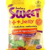 Bala de Algas Marinhas Sabor Frutas Sweet 60 g - Sweet Jelly