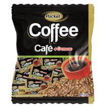 Bala De Café Pocket Cremosa Coffee 500g - Freegells - Riclan