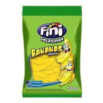 Bala De Gelatina Banana 500gr - Fini -