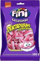 Bala De Gelatina Dentaduras Cítricas 500g - Fini -