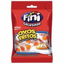 Bala de Goma Ovos Fritos 90g Fini -
