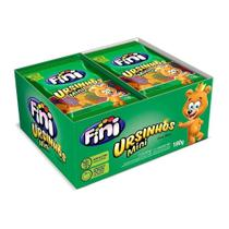 Bala gelatina mini ursinhos caixa 12 peças 15g 180g - Fini