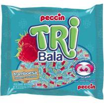 Bala Recheada Tri Bala Sabor Framboesa 500g - Peccin -