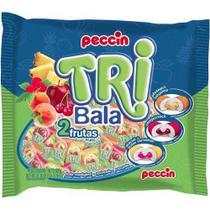 Bala Recheada Tri Bala Sabor Frutas 500gr - Peccin -