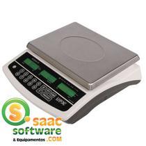 Balança Computadora 15kg Acqua Premium UPX Branca com Bateria -