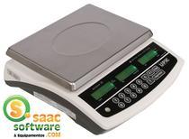 Balança Computadora 30kg Acqua Premium UPX Branca com Bateria -