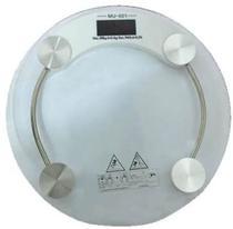 Balança Corporal Digital Banheiro Academia Consultório 180Kg - Tomate