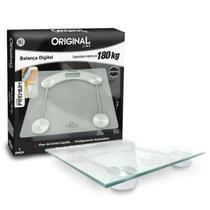 Balança Corporal Digital De Precisão Até 180Kg Premium Glass - Toda Casa