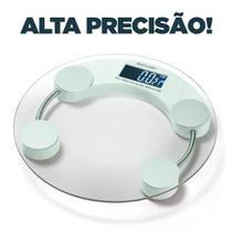 Balança Corporal Digital Multilaser Eatsmart Branca Banheiro Academia HC039 -