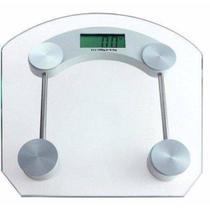 Balança de Banheiro Eletronica LCD Academia Vidro Temperado Digital 180kg - Alcateia