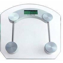 Balança de Banheiro Eletronica LCD Academia Vidro Temperado Digital 180kg - Compre Na Net