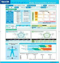 Balança de Bioimpedancia BC 601 Tanita c/ Software ILIMITADO -
