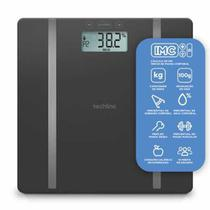 Balança De Controle Corporal Por Bioimpedância Digital Até 180kg - Techline