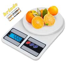Balança De Cozinha Digital Alta Precisão Até 10kg + 2 pilhas - 123 Util - 123Útil