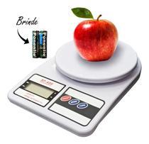 Balança De Cozinha Eletrônica Digital De Precisão 10kg Dieta E Culinária - Logospan
