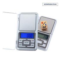 Balança De Precisão Digital Portátil Escala 0 A 500 Gramas - Aiker