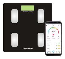 Balança digital bioimpedância com aplicativo - Importway
