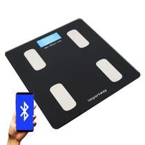Balança Digital Bioimpedância Corporal App 180Kg Importway -