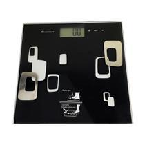 Balança Digital Corporal Bioimpedancia Imc Gordura Massa Multifuncao Inteligente  Alta Precisao Touch Display Banheiro fit Academia - Economia Solar