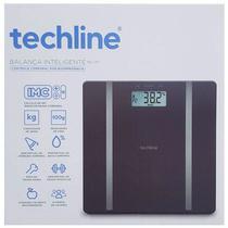 Balança Digital Corporal de Bioimpedância Techline até 180Kg -