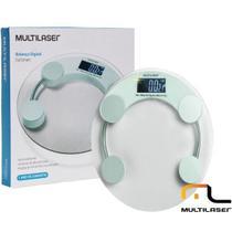 Balança Digital Corporal Eatsmart Multilaser Até 180kg, Ultra Resistente, Sensores de Alta Precisão -