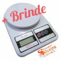 Balança Digital Cozinha 10kg Precisão Dieta Fitness - 123Útil, Welmix , Vs Import