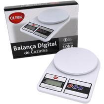 Balança Digital De Cozinha Para Comida Até 10kg - Clink