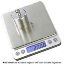 balança digital de precisão 1g a 2kg Conta Peças c/ bandeja CBRN05529 - COMMERCE BRASIL