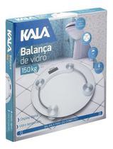 Balança Digital De Vidro 150kg-redonda Kala -