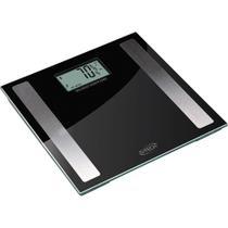 Balança Digital de Vidro 150kg, Taxa de Gordura, Líquido, Massa Muscular e Óssea G-Tech Glass Pro -