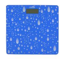 Balança digital de vidro temperado para banheiro quadrada 180kg - Eqp Presentes