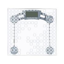 Balança Digital Lcd Vidro Temperado 180kg Banheiro Agratto -