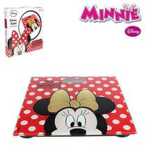 Balança Digital Minnie Mouse de Vidro 180kg - 139945 - Etilux