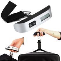Balança Digital para Mala de Viagem Bagagem até 50kg - Paizao store