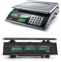 Balança Digital Toledo 15kg com Bateria  - Certificada Inmetro e IPEM - Toledo / Prix