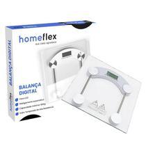 Balança Digital Vidro Casa Academias Banheiro 180kg - Homeflex