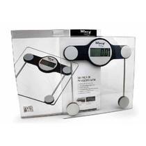 Balança Digital Vidro LCD 150Kg- WINCY CASA -