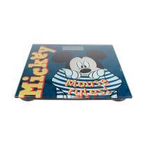 Balança Digital Vidro Temperado 180kg Banheiro Mickey DYH-601  Etilux -
