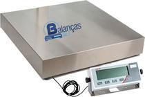 Balança Eletrônica 500kg X 100g Plataforma Inox 70x70 Inmetro Marte -