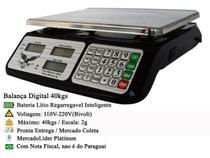 Balança Eletrônica Digital até 40kg Alta Precisão Bivolt - Jl
