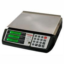Balança Eletrônica Digital capacidade 20 Kg POP Z com Bateria Bivolt - Urano -