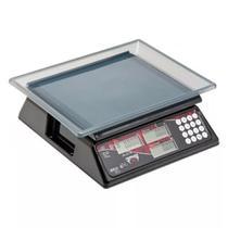 Balança Eletrônica Escala Simples Capacidade 15kg/5g - 1084 Preta Mod. DCRB BL 15 Cód. 1067  Ramuza -
